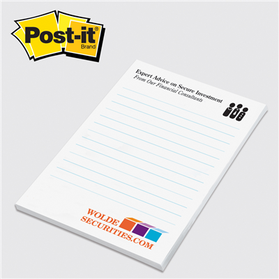 "Post-it® Notes Pads from 3M 4""x6"""