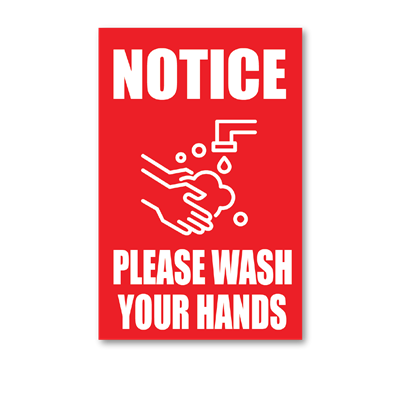 Wash Your Hands - Wall Graphic